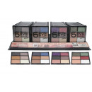 wholesale Drugstore & Beauty: LETICIA WELL 6 COLORS OBSESSION EYESHADOW