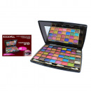 grossiste Maquillage: PALETTE FARD A PAUPIERES LETICIA WELL