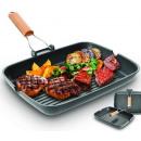 wholesale Pots & Pans: Sinbo grill pan,  cast iron, aluminum diecast
