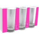 grossiste Lunettes: LAV Liberté  highball ensemble de trois de verre