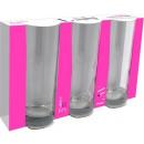 groothandel Glazen: LAV Liberty  longdrinkglas 360 ml set van 3