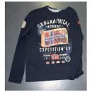 ingrosso Ingrosso Abbigliamento & Accessori: T-Shirt manica  lunga da uomo Geographical Norway