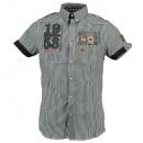 Großhandel Hemden & Blusen: Hemd mit kurzen  Ärmeln MAN Geographical Norway