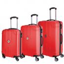 Großhandel Taschen & Reiseartikel: Set von 3 Koffer Jean Louis Scherrer