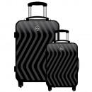 ingrosso Borse & Viaggi: Set di 2 valigie Geographical Norway