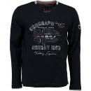 ingrosso T-shirts & Tops: T-Shirt manica  lunga da uomo Geographical Norway