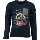 wholesale Shirts & Tops: Men's Long  Sleeve T-Shirt Geographical Norway