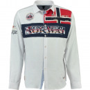 wholesale Shirts & Blouses: Men's long sleeve shirt Geographical Norway
