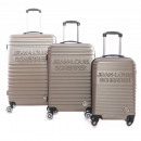 wholesale Bags & Travel accessories: Set of 3 suitcases Jean Louis scherrer