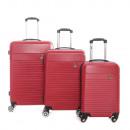 Lot de 3 valises Jean louis scherrer