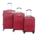 grossiste Bagages et articles de voyage: Lot de 3 valises Geographical norway