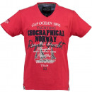 wholesale Shirts & Tops: Men's T-Shirt Geographical Norway