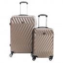 mayorista Maletas y articulos de viaje: Juego de 2 maletas Geographical Norway