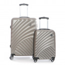 Großhandel Taschen & Reiseartikel: Set bestehend aus  2 Koffern Geographical Norway