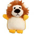grossiste Porte-cles: Peluche Lion animal keyring 8,5cm