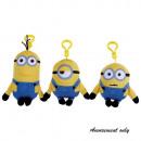 Felpa Minions  clips de 3 clases de 10-15 cm