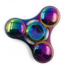 Fidget Spinner Metall, rund, Farbe Rainbow