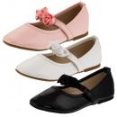 Zapatos festivos chica mezclados post stock restan
