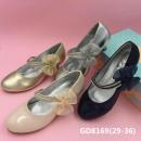 Ünnepi lány szivattyúk cipő Hard 29-36