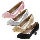 Ünnepi lányszivattyúk cipő 28-36