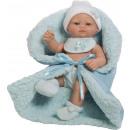JUGUETES - MUÑECAS - Mini REcien Nacido 27 cm