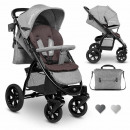 Lionelo stroller Annet TOUR in gray buggy