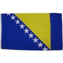 grossiste Gadgets et souvenirs: drapeau de drapeau  Bosnie-Herzégovine 90 x 150 cm