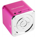 wholesale Consumer Electronics: MusicMan Mini Speaker Pink MP3 Player