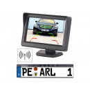 wholesale Computer & Telecommunications: Lescars radio parking aid TFT monitor number plate