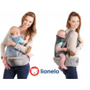 Lionelo Lauren ergonomic baby carrier in gray