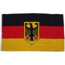 mayorista Regalos y papeleria: XXL Bandera Alemania con águila 250 x 150 cm