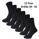 wholesale Stockings & Socks: 12 pairs of  classic socks from coton 39-42