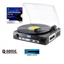 Großhandel MP3 & MP4 Player : Q-Sonic UPL-855.MP3 Plattenspieler ...