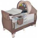 wholesale Toys: Lionelo Sven Plus in brown baby travel cot