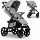 wholesale Child and Baby Equipment: Lionelo ANNET gray stroller Buggy made of linen