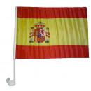 wholesale RC Toys: Car Flag Spain 30 x 40 cm