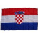 XXL Flagge Kroatien 250 x 150 cm
