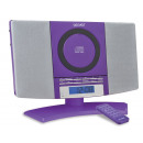 wholesale Clocks & Alarm Clocks: Denver MC-5220 Purple Stand CD Player