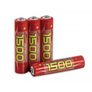 wholesale Batteries & Accumulators: McPower Micro Battery AAA 1.2V 1500mAh NiMH 4 Pack