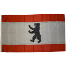 Bandera de Berlín sin corona 90 x 150 cm