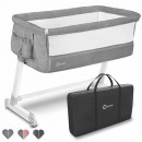 Lionelo Theo Baby Additional bed Cot gray