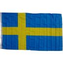 Großhandel Fanartikel & Souvenirs: XXL Flagge Schweden 250 x 150 cm