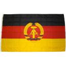 mayorista Gadgets y recuerdos: Bandera XXL DDR 250 x 150 cm con 3 ojales de latón