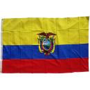 grossiste Gadgets et souvenirs: Drapeau de  l'Equateur 90 x 150 cm