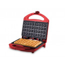 wholesale Kitchen Electrical Appliances: Beper waffle maker  for Belgian waffles in red 700