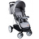 Lionelo Elise stroller buggy in gray with bag