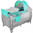wholesale Child and Baby Equipment: Lionelo Sven Plus in turquoise gray kids baby bed