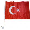 Car Flag Turkey 30 x 40 cm