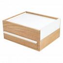 wholesale Jewelry Storage: Umbra STOWIT jewelery box in white / wood design
