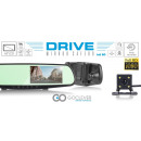wholesale Car accessories: GoClever Parking Sensor HD Rearview Mirror Dashcam